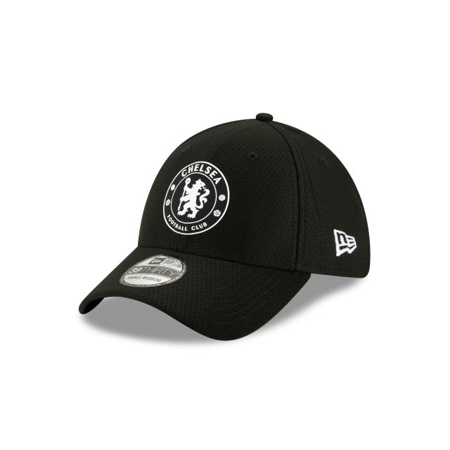 Chelsea Fc Hex Era Black 39thirty Stretch Fit | New Era Cap