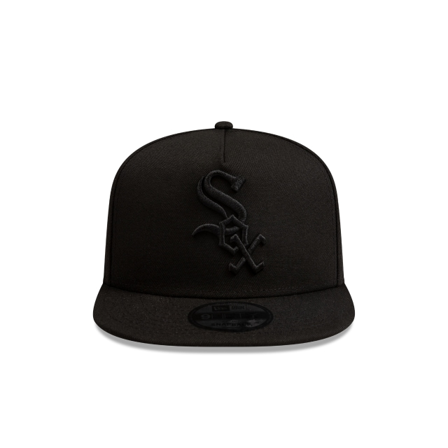 Chicago White Sox Black Tonal 9FIFTY A-frame | Chicago White Sox Hats | New Era Cap