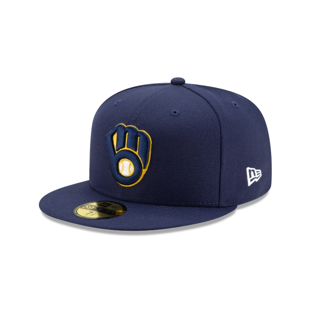 Milwaukee Brewers Authentic Collection 59FIFTY Fitted | Milwaukee Brewers Hats | New Era Cap