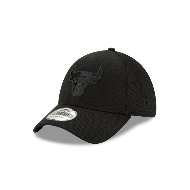 Chicago Bulls Nba Authentics Back Half Series Black On Black 39thirty | New Era Cap