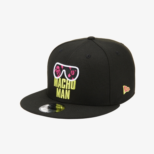 Macho Man WWE Black 9FIFTY | WWE Legends Hats | New Era Cap