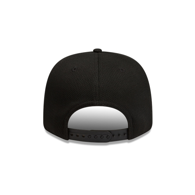 Essendon Bombers Black Mesh 9FIFTY Pre-curved Snapback | Essendon Bombers Hats | New Era Cap