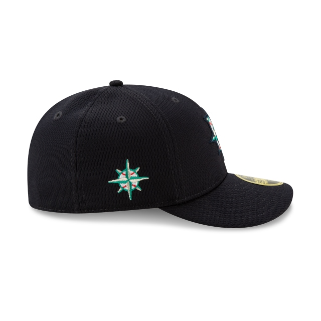 Seattle Mariners 2021 Batting Practice Official Team Colours Low Profile 59FIFTY Fitted | Seattle Mariners Hats | New Era Cap