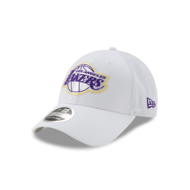 Los Angeles Lakers Nba Authentics Back Half Series White Stretch Snap 9forty | New Era Cap