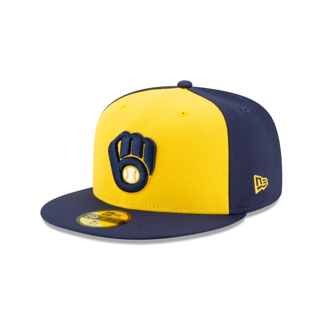 Milwaukee Brewers Authentic Collection Alternate 59FIFTY Fitted | Milwaukee Brewers Hats | New Era Cap