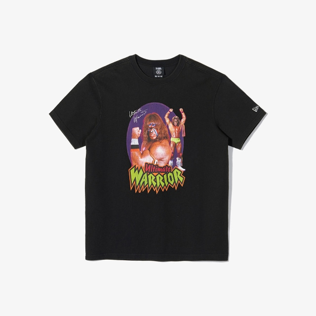 Ultimate Warrior WWE Black T-shirt | WWE Legends | New Era Cap