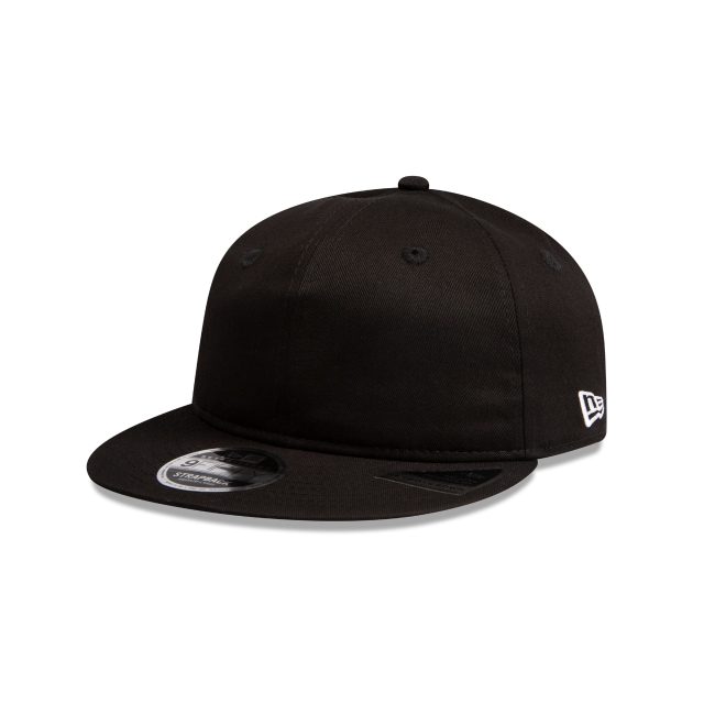 New Era Essentials Black Retro Crown 9fifty | New Era Cap