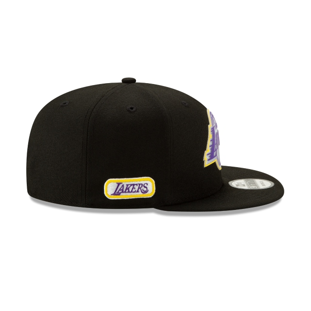 Los Angeles Lakers NBA Authentics Back HaLF Series 9FIFTY Snapback | Los Angeles Lakers Hats | New Era Cap