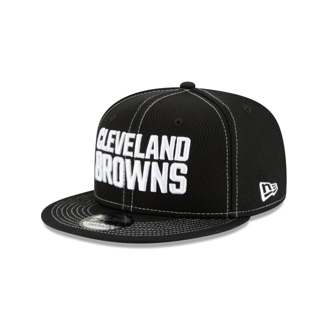 Cleveland Browns Nfl Sideline Road Black 9fifty Snapback | New Era Cap