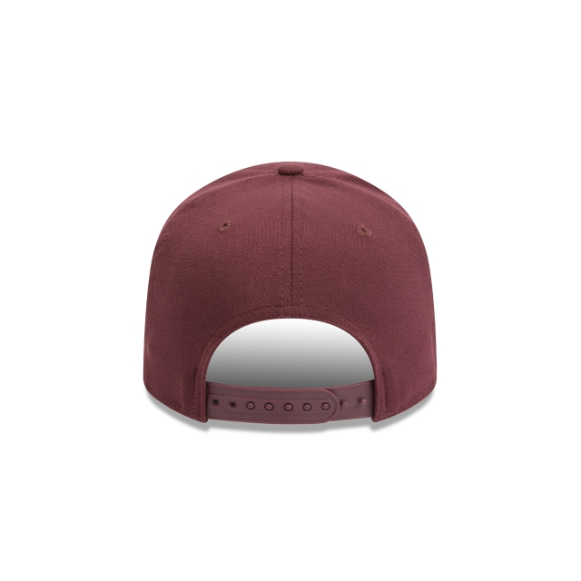 Chicago Bulls Maroon 9fifty Stretch Snapback | Chicago Bulls Basketball Caps | New Era Cap