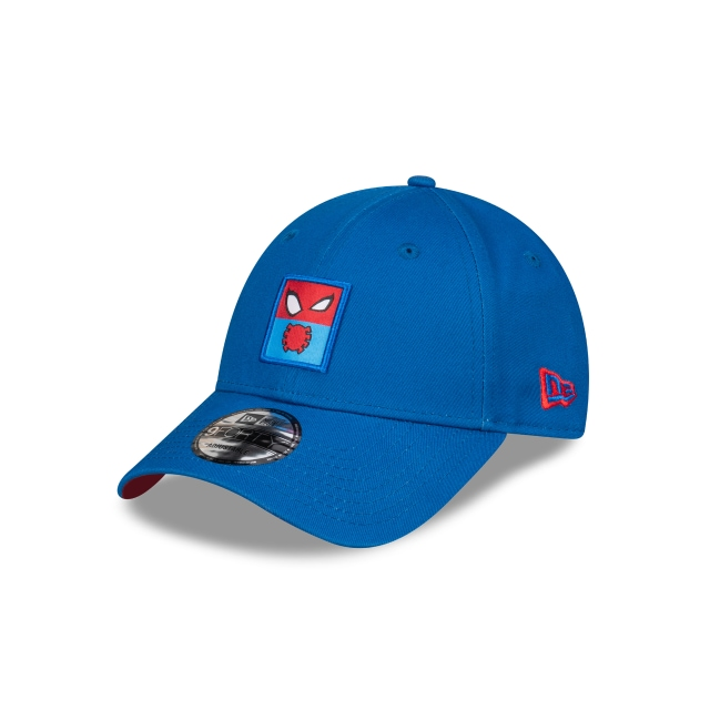 Spiderman Blue Patch 9FORTY | Entertainment Elements Hats | New Era Cap