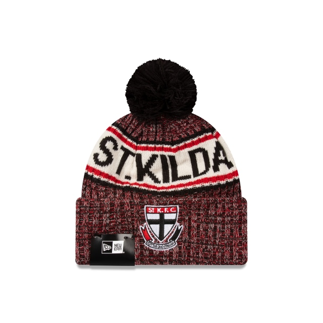 St Kilda Saints Authentic Team Cuff Knit Beanie | St Kilda Saints Hats | New Era Cap