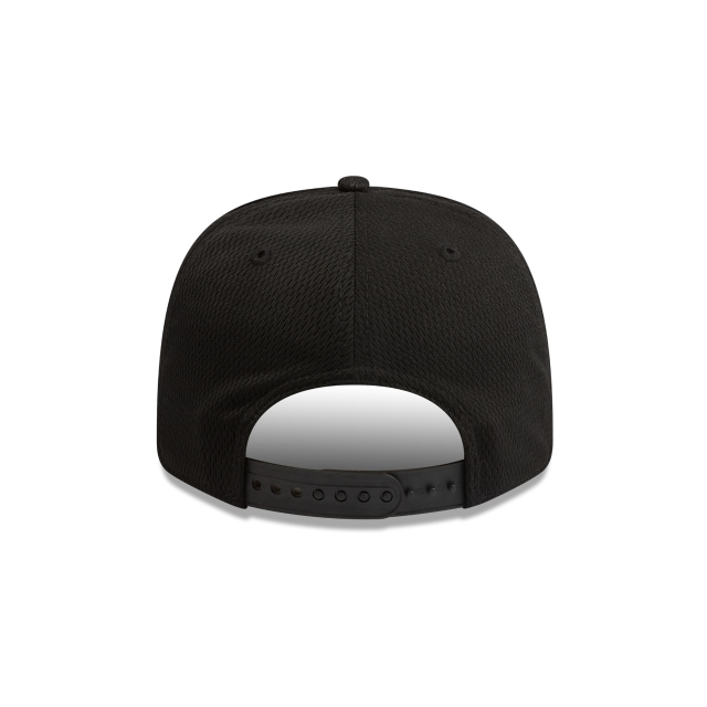 Collingwood Magpies Black Mesh 9FIFTY Pre-curved Snapback | Collingwood Magpies Hats | New Era Cap