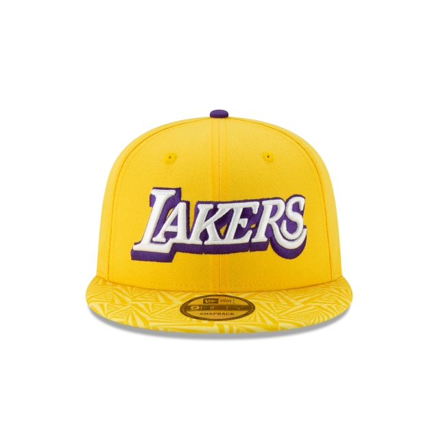 Los Angeles Lakers NBA Authentics City Series 9FIFTY Snapback | Los Angeles Lakers Hats | New Era Cap