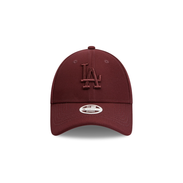 Los Angeles Dodgers Wine Rust Womens 9forty | Los Angeles Dodgers Baseball Caps | New Era Cap