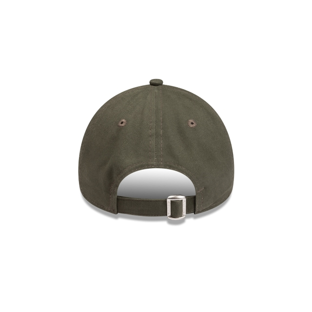 Los Angeles Dodgers Olive Canvas Womens 9FORTY A-frame | New Era Cap