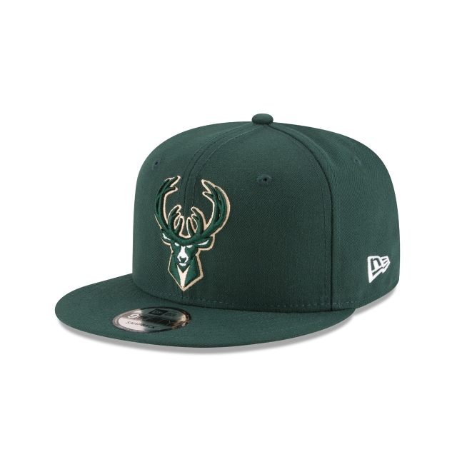 Milwaukee Bucks Official Team Colour 9FIFTY Snapback | Milwaukee Bucks Hats | New Era Cap