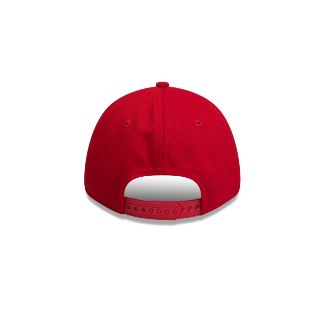 Gold Coast Suns Scarlet Mesh 9FORTY Snapback | Gold Coast Suns Hats | New Era Cap