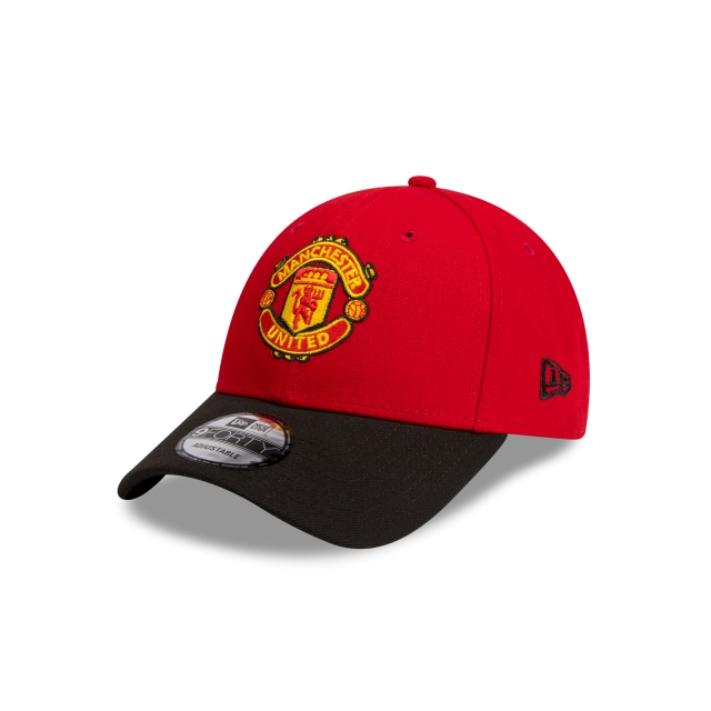 Manchester United Scarlet 9FORTY | Manchester United Hats | New Era Cap
