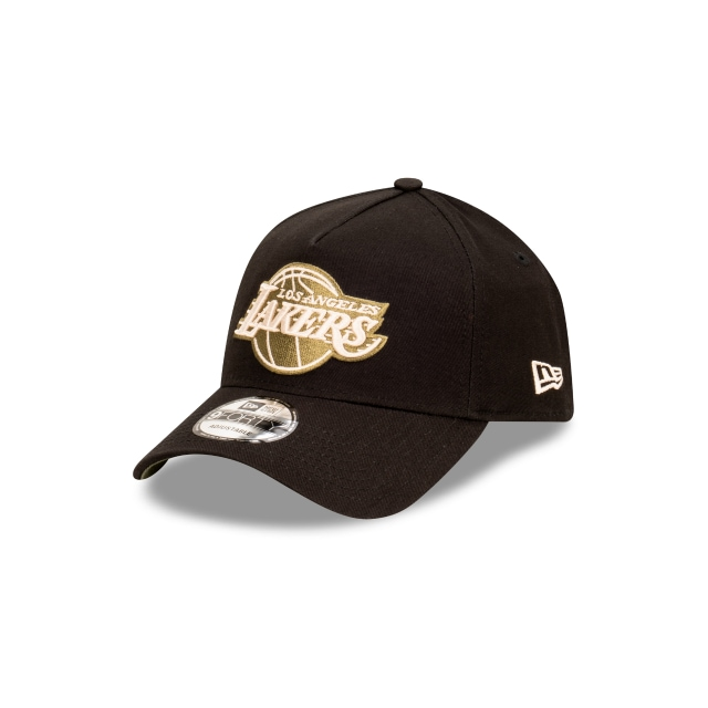Los Angeles Lakers Black/olive 9FORTY A-frame | Los Angeles Lakers Hats | New Era Cap