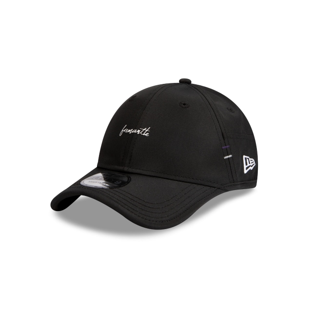 Fremantle Dockers Black AFLw Script Forty9 | Fremantle Dockers Hats | New Era Cap