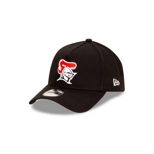 Newcastle Knights Black 9FORTY A-frame | Newcastle Knights Hats | New Era Cap