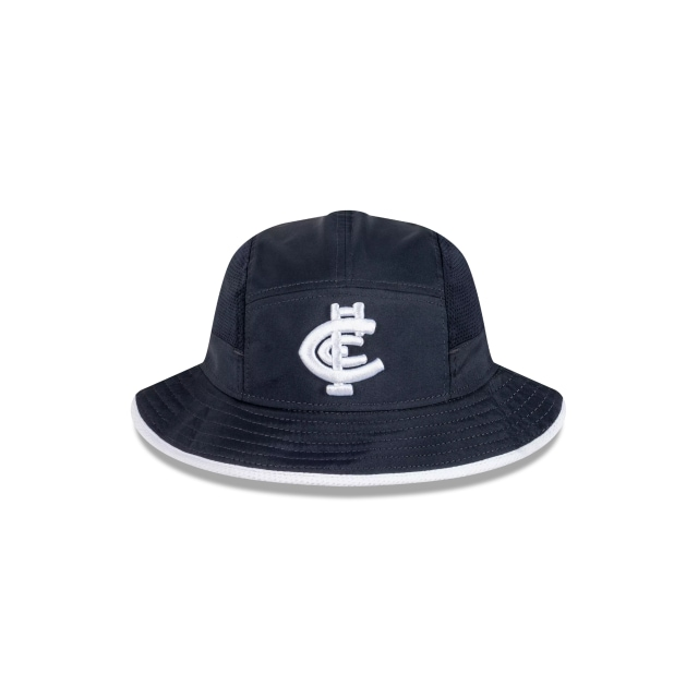 Carlton Blues 2021 On Field Sport Bucket | Carlton Blues Hats | New Era Cap