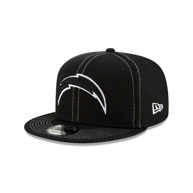Los Angeles Chargers Nfl Sideline Road Black 9fifty Snapback | New Era Cap