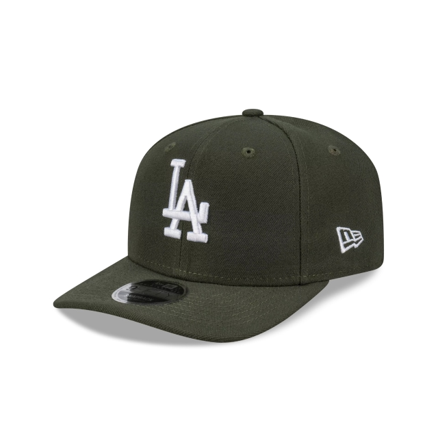 Los Angeles Dodgers Green Hit Pre Curved Original Fit 9FIFTY | Los Angeles Dodgers Hats | New Era Cap