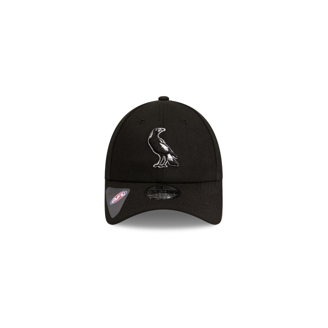 Collingwood Magpies Black Youth 9forty | Collingwood Magpies Caps | New Era Cap