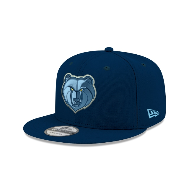 Memphis Grizzlies Official Team Colour 9FIFTY Snapback | Memphis Grizzlies Hats | New Era Cap