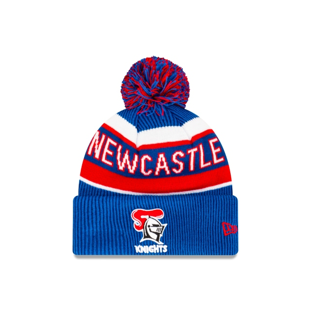Newcastle Knights Official Team Colours Beanie | Newcastle Knights Hats | New Era Cap