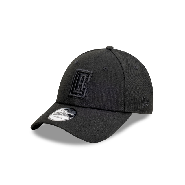 Los Angeles Clippers Black On Black 9FORTY | Los Angeles Clippers Hats | New Era Cap