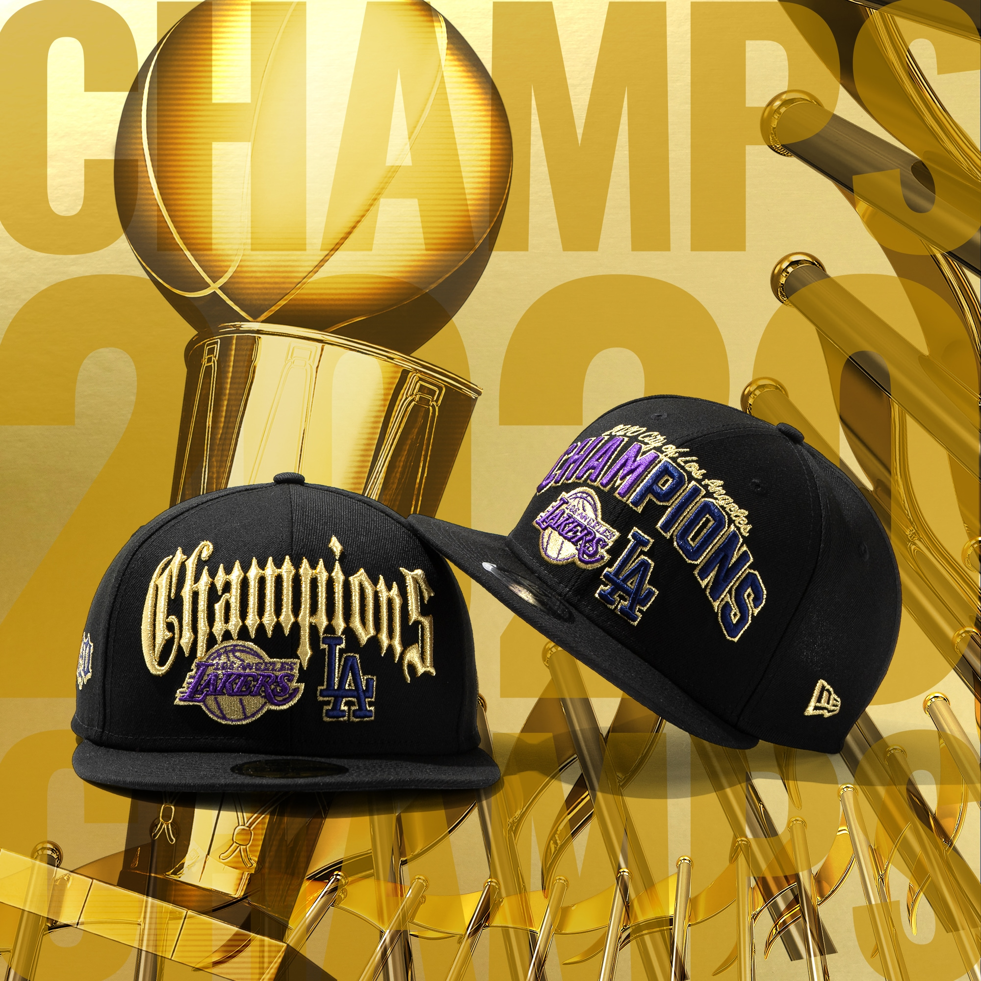 New Era Cap | Los Angeles Co Champs 2020
