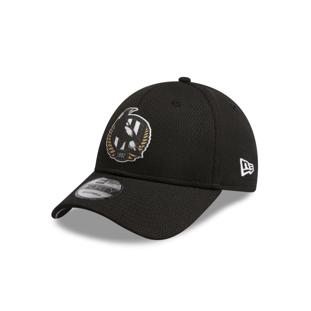Collingwood Magpies Black Mesh 9FORTY Snapback | Collingwood Magpies Hats | New Era Cap