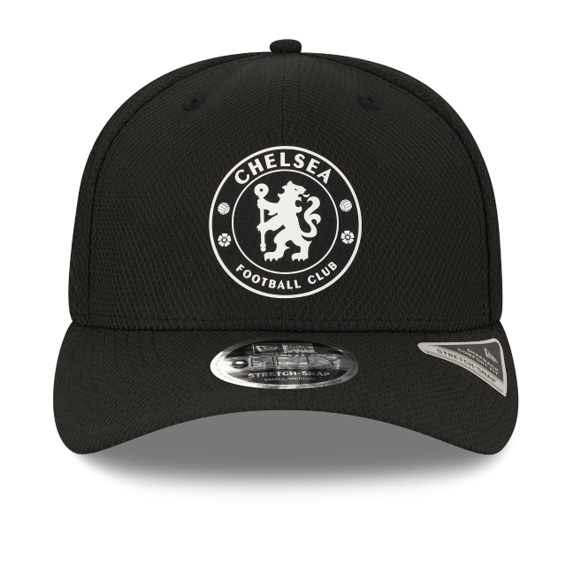 Chelsea Fc Black Diamond Era Monochrome 9FIFTY Stretch Snapback | Chelsea Fc Hats | New Era Cap