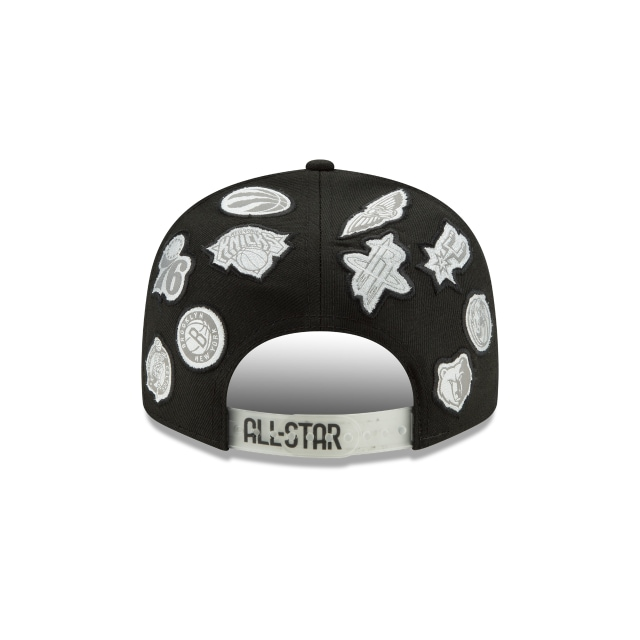 NBA All-star Game All Over Team 9FIFTY Snapback | NBA All-star Game Hats | New Era Cap
