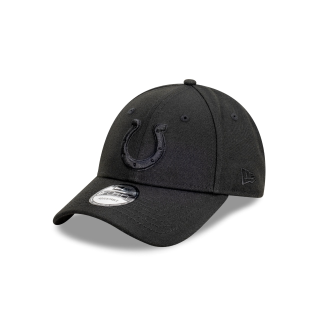 Indianapolis Colts Black On Black 9FORTY | Indianapolis Colts Hats | New Era Cap