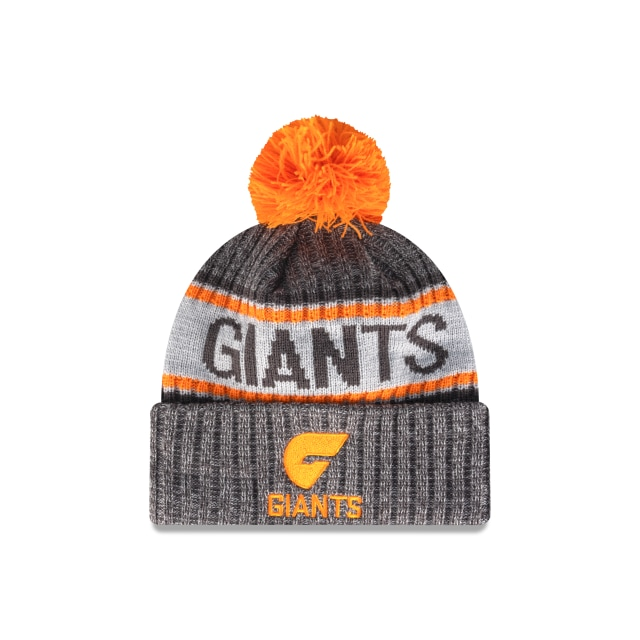 Gws Giants Graphite Grey Marl Beanie | Greater Western Sydney Giants Hats | New Era Cap