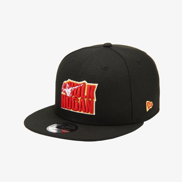 Hulk Hogan WWE Black 9FIFTY | WWE Legends Hats | New Era Cap