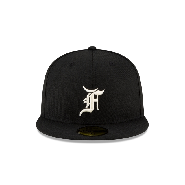 Black Essentials 59FIFTY Fitted By Fear Of God Essentials | Fear Of God Essentials Hats | New Era Cap