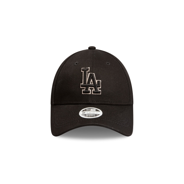 Los Angeles Dodgers Black Stone Womens 9FORTY | Los Angeles Dodgers Hats | New Era Cap
