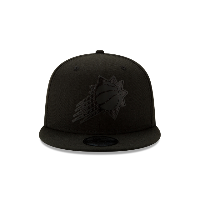 Phoenix Suns NBA Authentics Back HaLF Series Black On Black 9FIFTY Snapback | Phoenix Suns Hats | New Era Cap