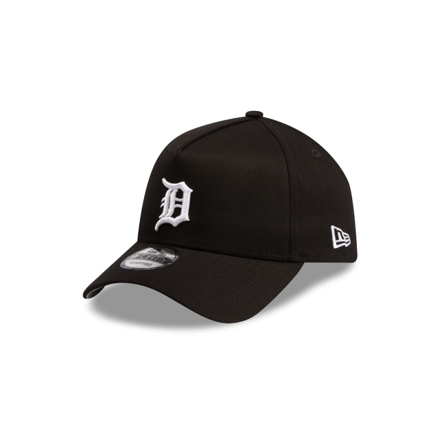 Detroit Tigers Black Grey 9forty A-frame | New Era Cap