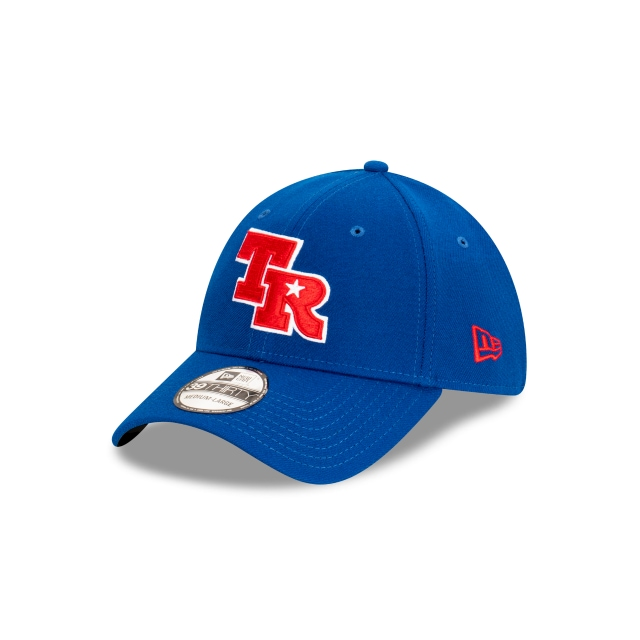 Texas Rangers MLB Ligature Official Team Colours 39THIRTY Stretch Fit | Texas Rangers Hats | New Era Cap