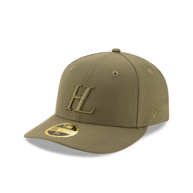 Helmut Lang Olive Low Profile 59FIFTY | Helmut Lang Hats | New Era Cap