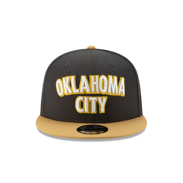 Oklahoma City Thunder NBA Authentics City Series 9FIFTY Snapback | Oklahoma City Thunder Hats | New Era Cap