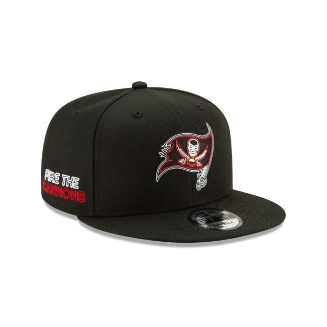 Tampa Bay Buccaneers Official NFL Draft 9FIFTY Snapback | Tampa Bay Buccaneers Hats | New Era Cap