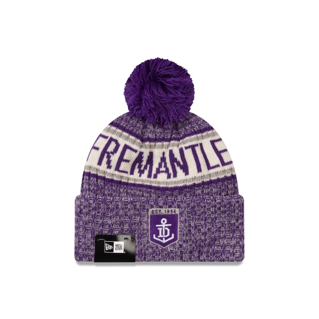 Fremantle Dockers Authentic Team Cuff Knit Beanie | Fremantle Dockers Hats | New Era Cap