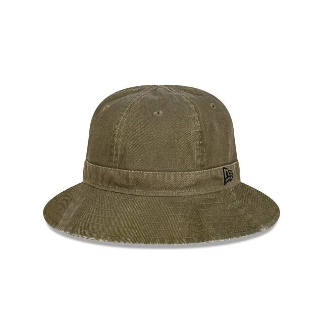 New Era Essentials Olive Overdye Explorer Bucket | Outdoor 4 Essentials Hats | New Era Cap